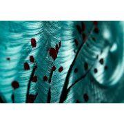 ZANGA téli éj alumínium falikép, 100x50 cm
