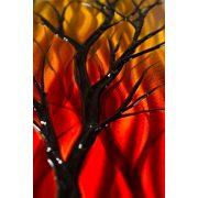 ZANGA kora ősz alumínium falikép, 100x50 cm