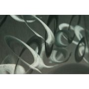 ZANGA áramlat alumínium falikép, 150x60cm