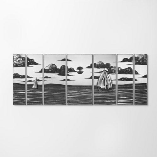ZANGA vakáció alumínium falikép, 200x80 cm