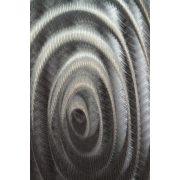ZANGA keretek alu-olaj kombó dombormű falikép, 150x50 cm