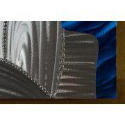ZANGA cukorsüveg hegy alu-olaj kombó dombormű falikép, 80x80 cm