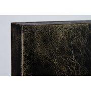 ZANGA csermely bőr falikép, 62x62 cm