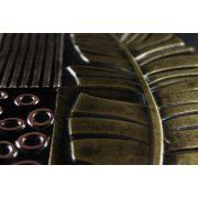ZANGA tollpihe bőr falikép II, 72x72 cm