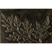 ZANGA tujaág bőr falikép, 80x80 cm