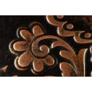 ZANGA motívumok bőr falikép, 60x60 cm